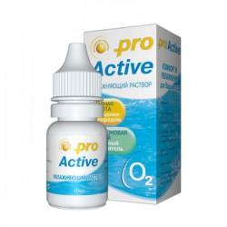 Раствор для ухода за контактными линзами, Оптимед 10 мл про актив увлажняющий
