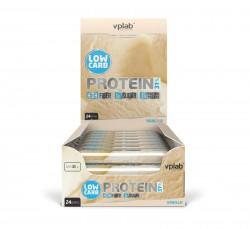 Батончик протеиновый, ВПЛаб 35 г Лоу Карб Протеин Бар ваниль пакет цефленовый