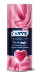 Гель-смазка интимный, Контекс 100 мл романтик ароматизированный клубника