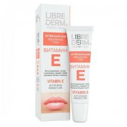 Актив-бальзам, Либридерм Витамин Е идеальные губы 12 мл