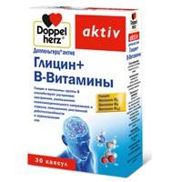 Доппельгерц актив Глицин + В-Витамины, капс. 610 мг №30