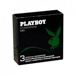 Презервативы, Плейбой №3 3 в 1