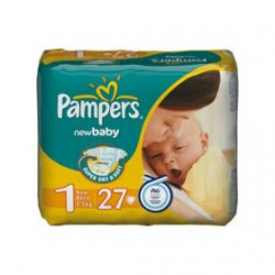 Подгузники, Памперс нью беби мини №94 3-6 кг р. 2